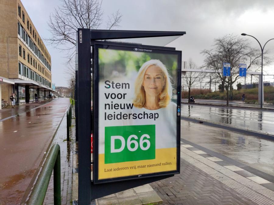 Linksliberale D66 überraschend stark bei Wahl in den Niederlanden