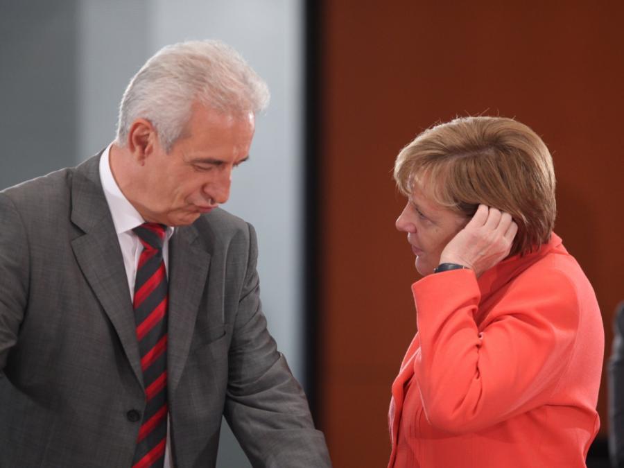 Ostdeutsche Ministerpräsidenten fordern von Merkel mehr Geld