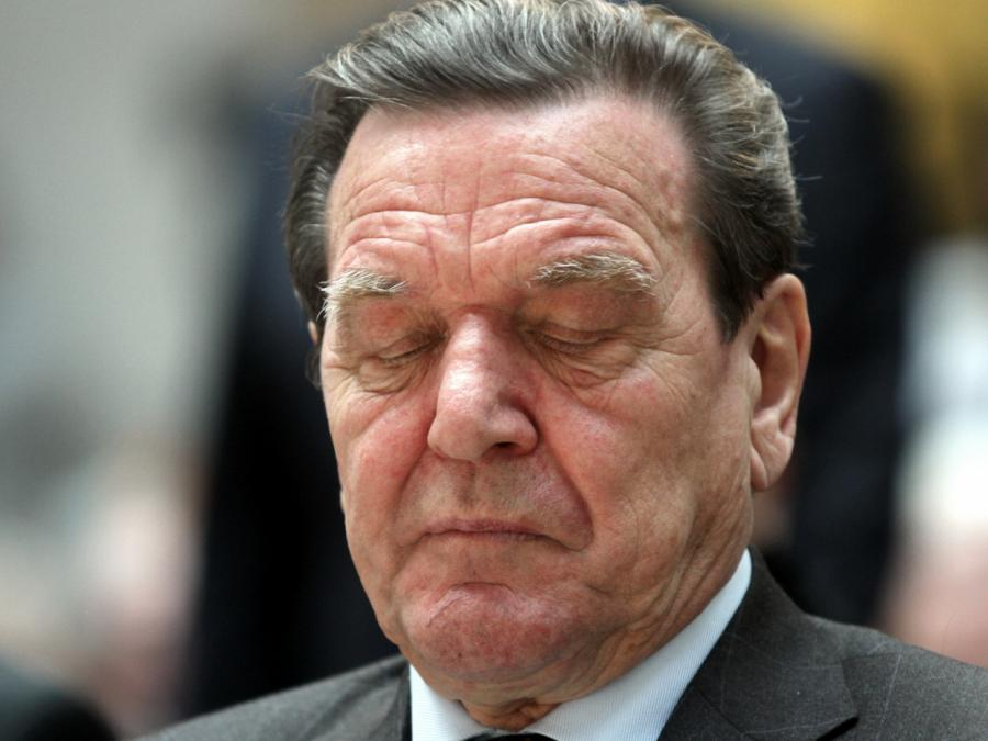 Union kritisiert Altkanzler Schröder wegen Russland-Engagement