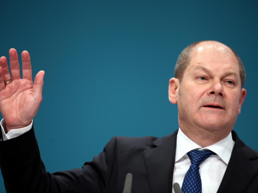 Scholz begründet Kandidatur - Traut sich Kanzleramt zu