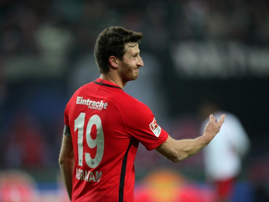 1. Bundesliga: Frankfurts Abraham für sieben Wochen gesperrt
