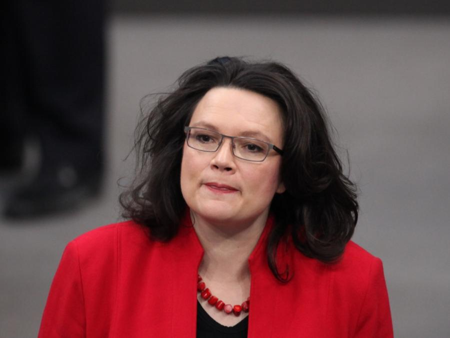 SPD-Vize Dreyer: Nahles hat