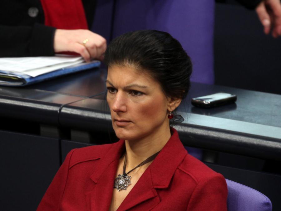 Wagenknecht kritisiert derzeitigen Politikbetrieb