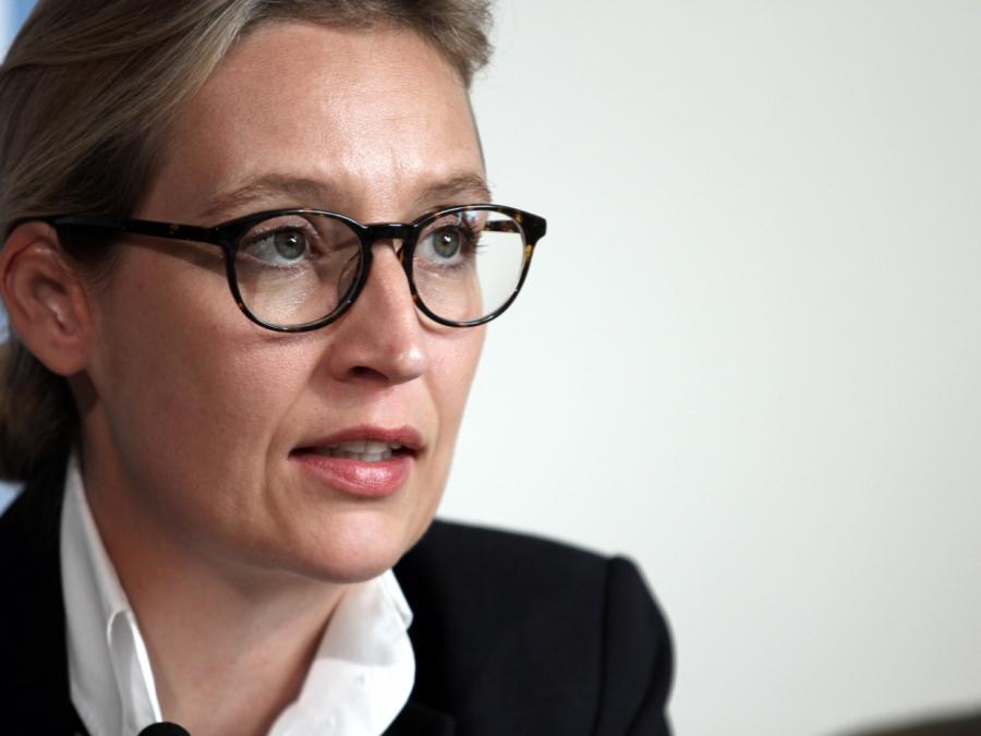 Weidel: Merkel hat keine Antwort auf drängende Zukunftsfragen