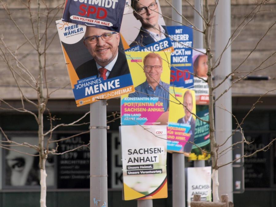 Bis zum Mittag weniger Wähler bei Landtagswahl in Sachsen-Anhalt