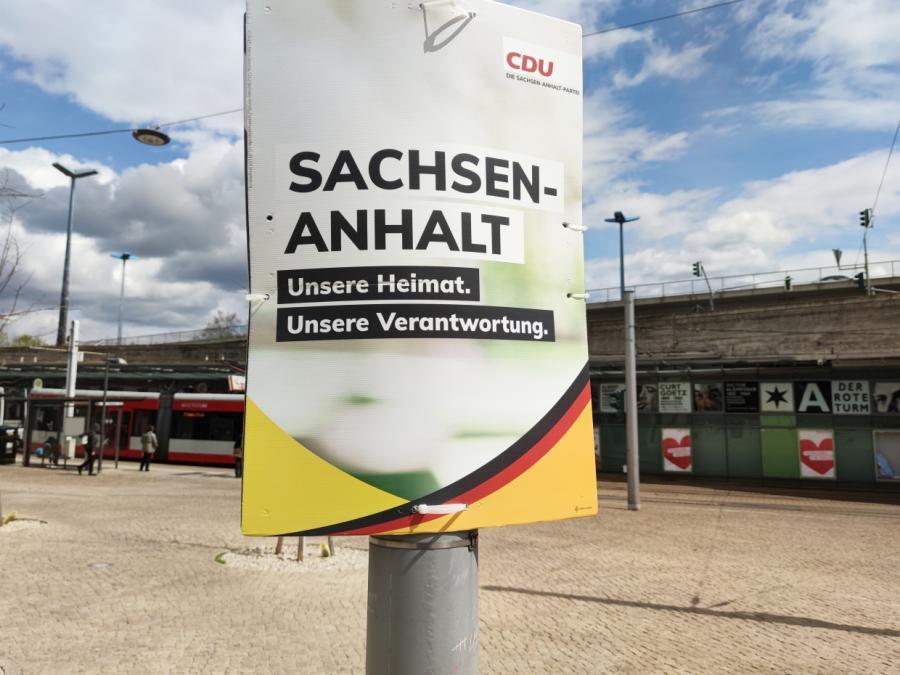 CDU bei Landtagswahl in Sachsen-Anhalt überraschend stark