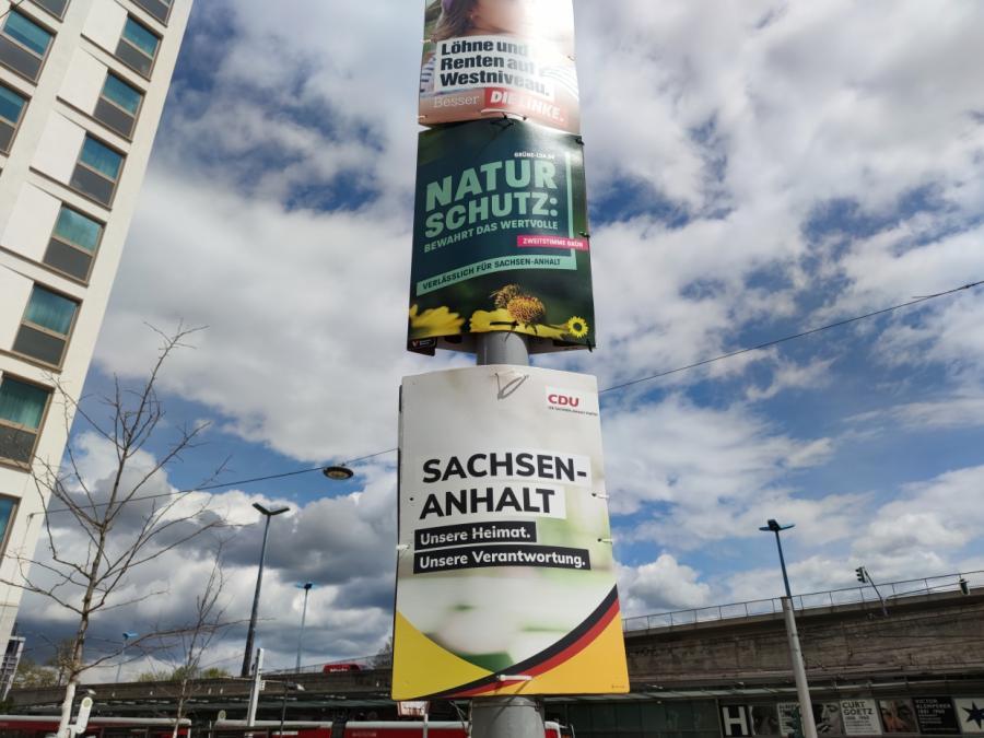ZDF-Politbarometer: CDU in Sachsen-Anhalt klar vor AfD