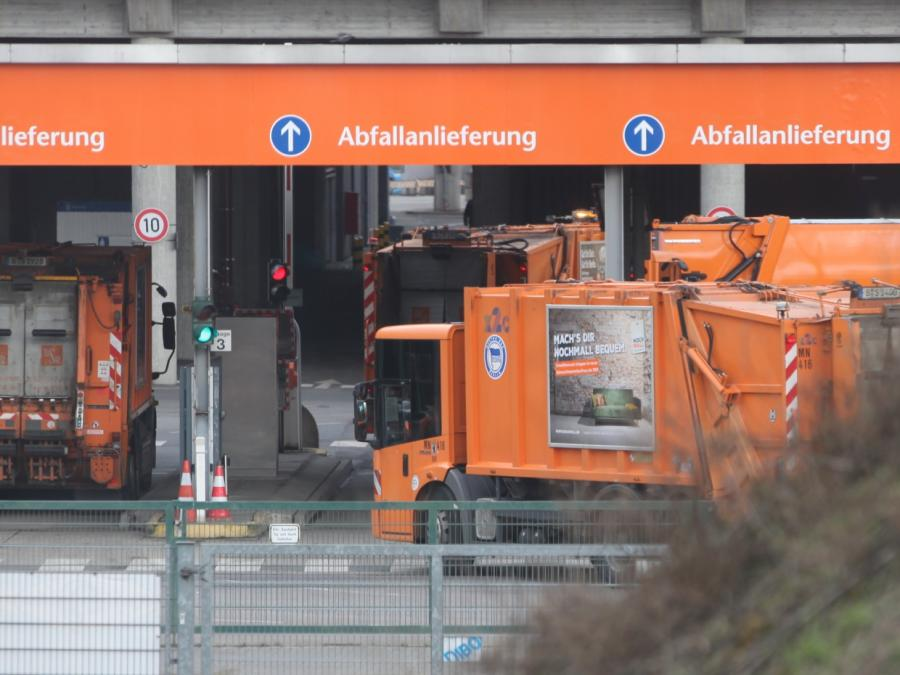 Deutschland produziert weiterhin viel Müll