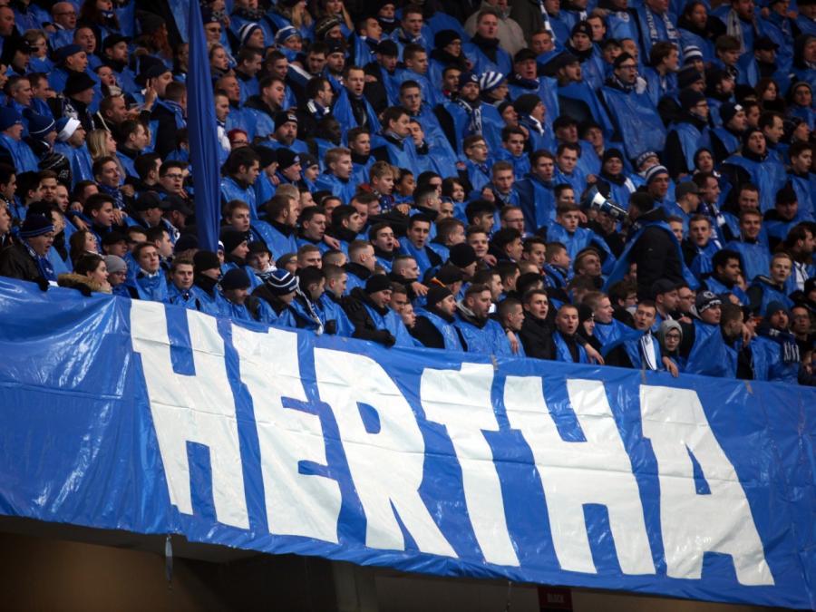 1. Bundesliga: Hertha unentschieden in Frankfurt