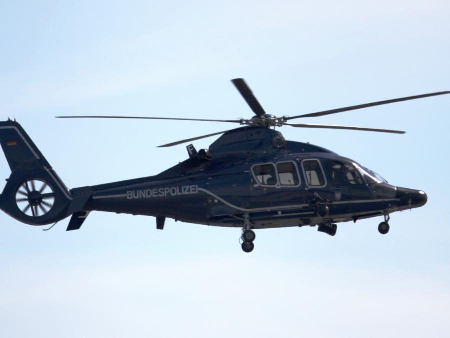 Nach Greenpeace-Aktion permanent Hubschrauber in der Luft
