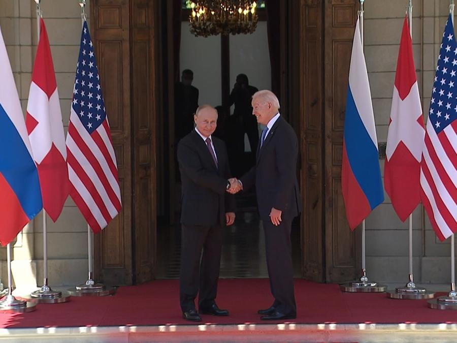 Biden und Putin in Genf zusammengetroffen