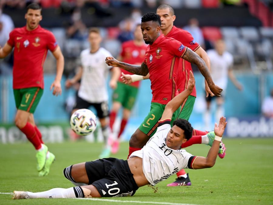 Fußball-EM: Spielfreudiges Deutschland bezwingt Portugal