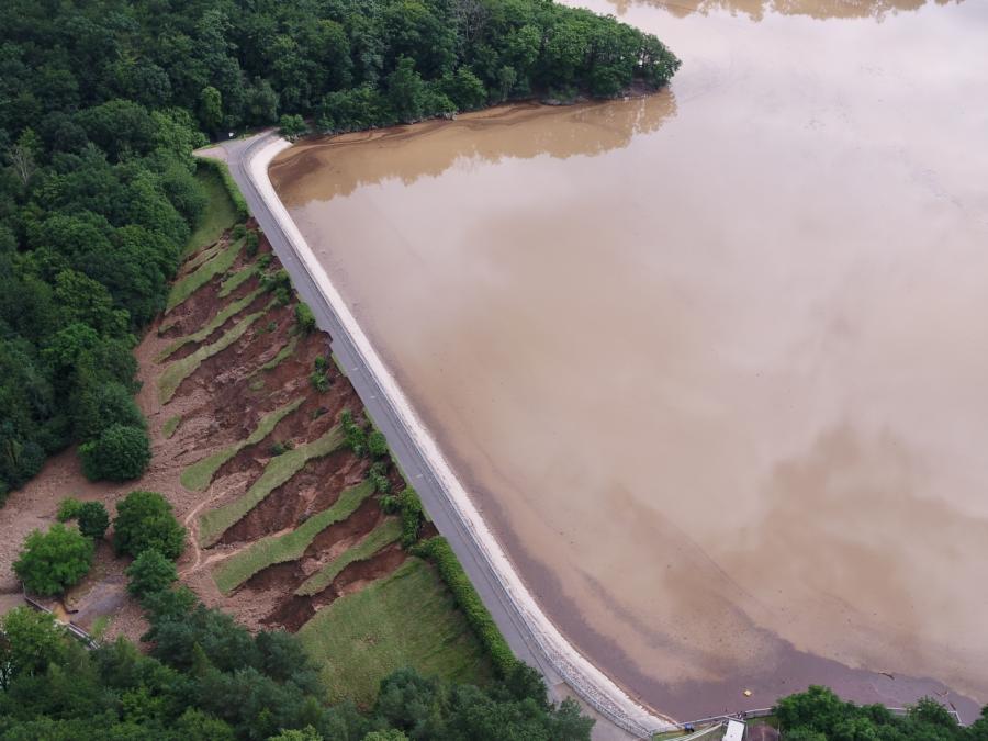 Bundesregierung einigt sich auf Hochwasserschutzplan
