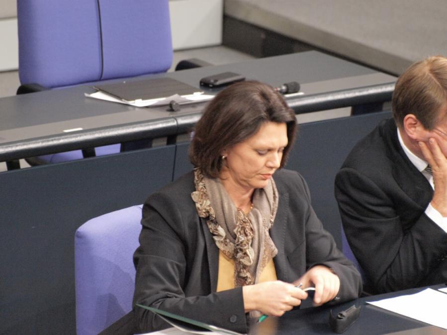 Ilse Aigner kritisiert Erscheinungsbild der CSU