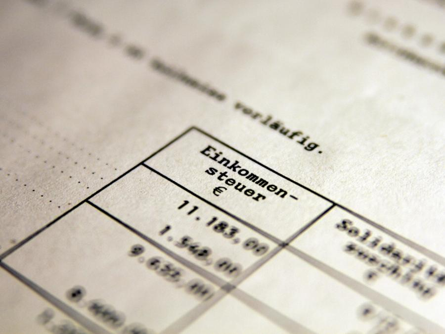 Steuereinnahmen stark angestiegen