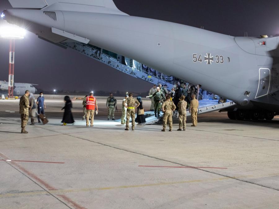 Bundeswehr bekommt Evakuierungsflüge aus Kabul oft nicht voll