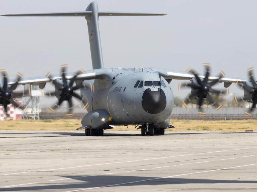 Bundeswehr-Pilot sah Flugzeugkollision als größte Gefahr in Kabul