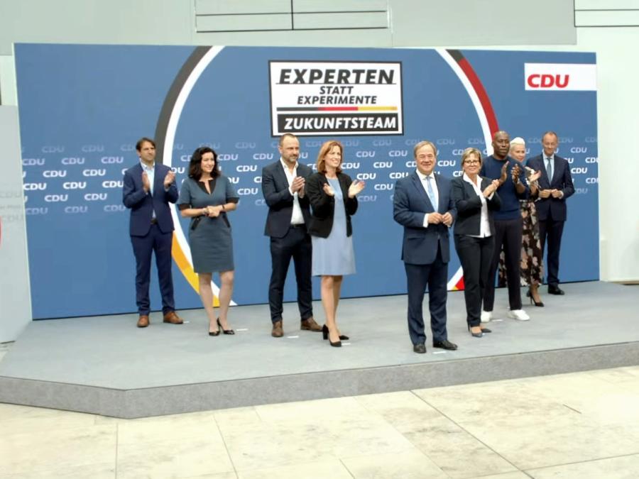 Laschet stellt CDU-Zukunftsteam vor