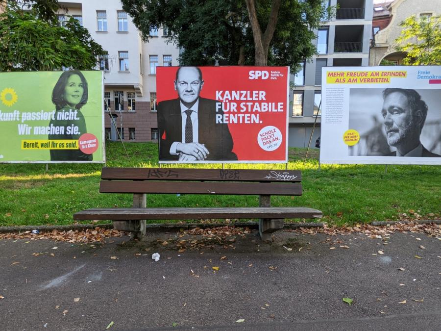 Linke warnt Scholz vor Bündnis mit FDP