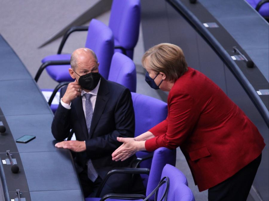 Scholz: Merkel wird zu Recht geschätzt