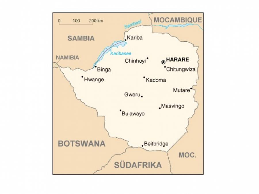 Simbabwe lässt Journalisten nicht ins Land