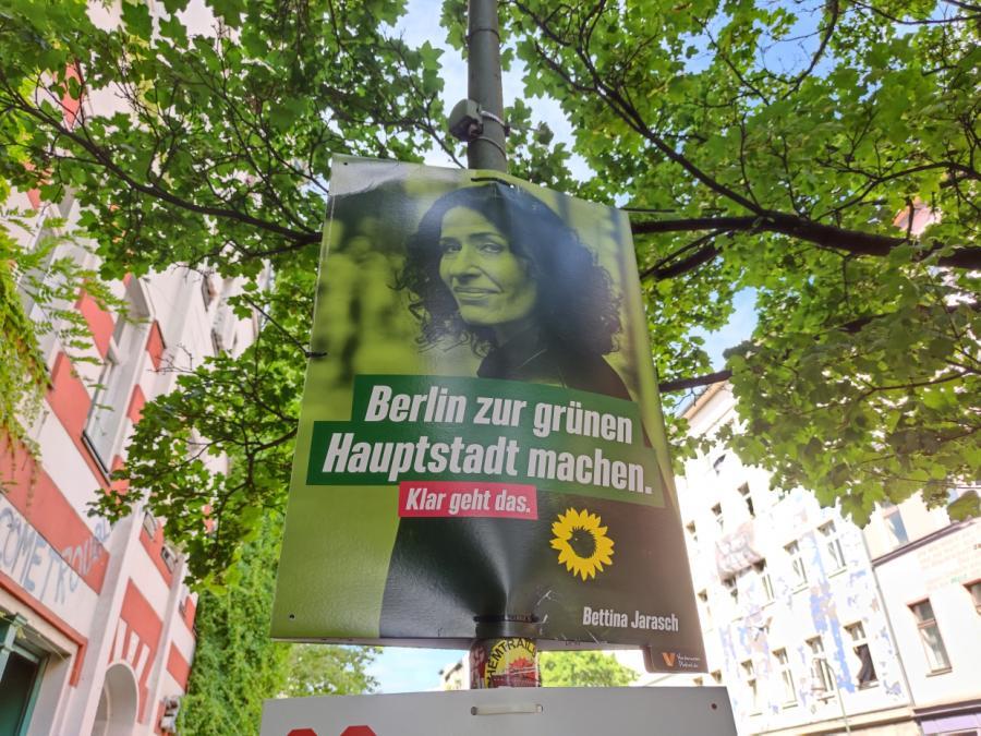 Künast: Berliner Abgeordnetenhauswahl bundesweit sehr bedeutsam