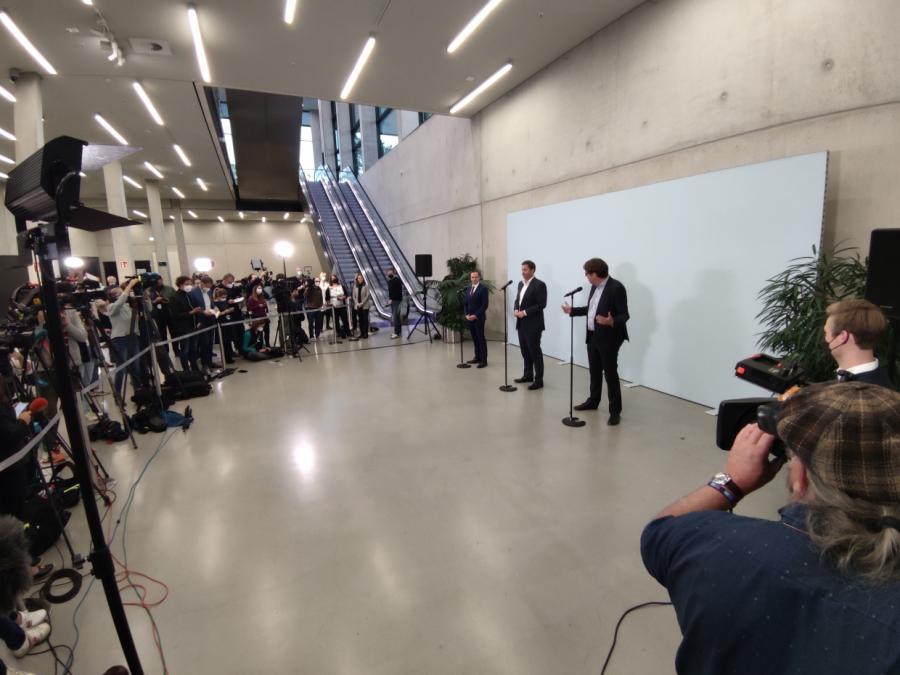 Jusos fordern Platz am Tisch der Ampel-Verhandlungen