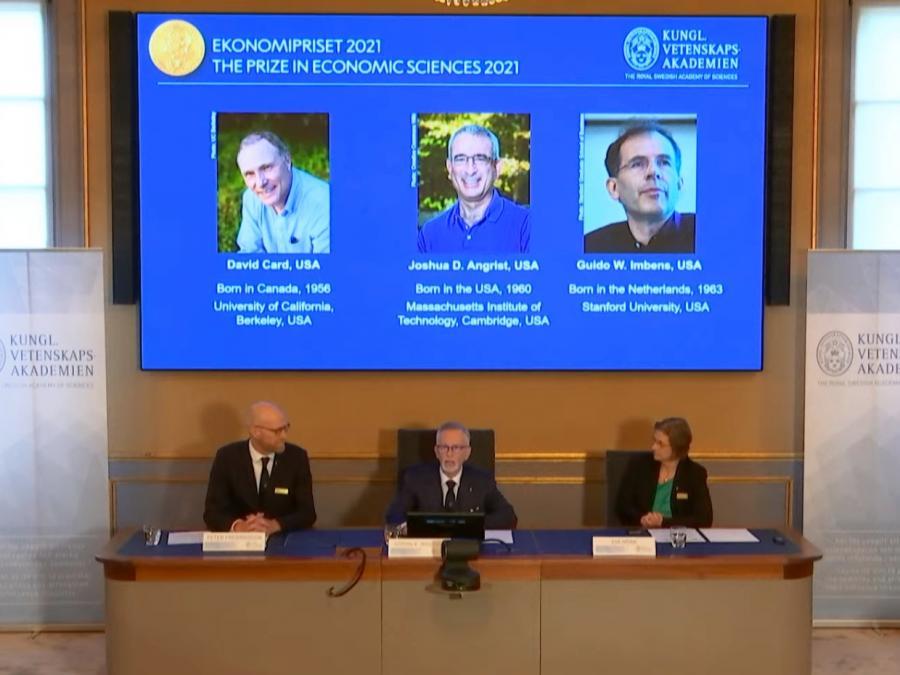 Drei US-Forscher erhalten Wirtschaftsnobelpreis