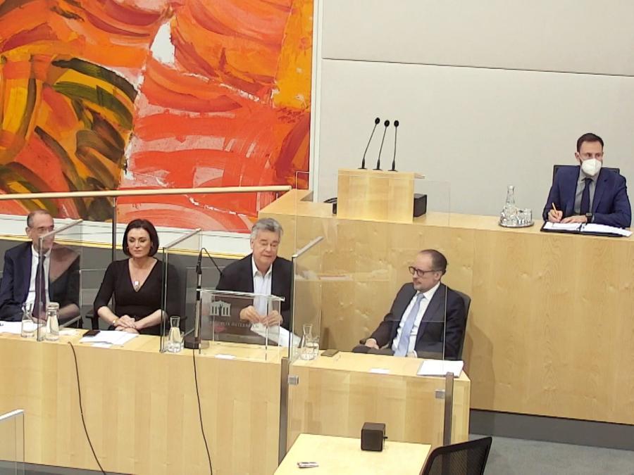 Schallenberg will eng mit Kurz zusammenarbeiten