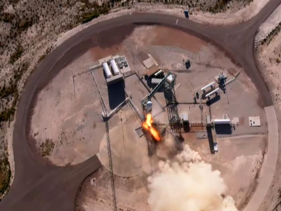 Star Trek-Ikone William Shatner absolviert Weltraumflug