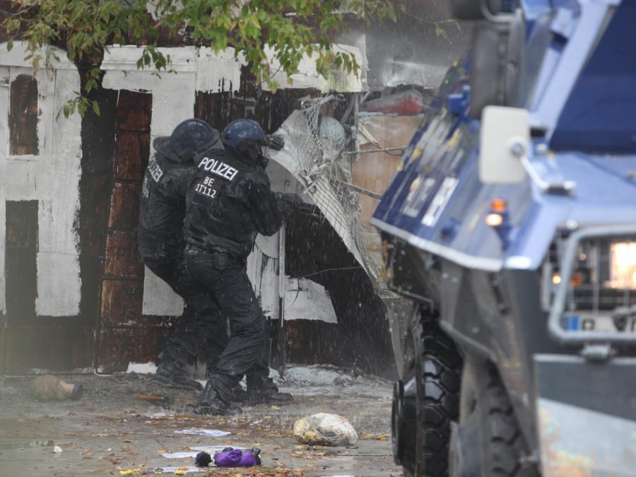 Polizei räumt