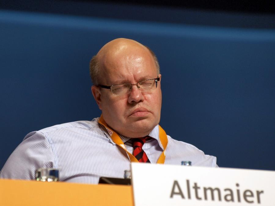Ex-Monopolkommissions-Chef: Altmaier höhlt Kartellrecht aus