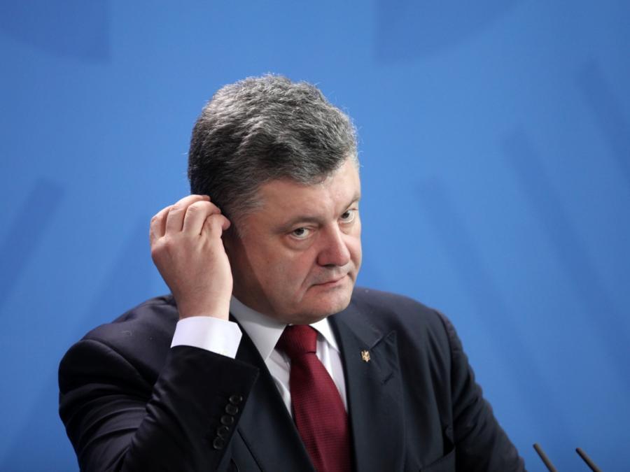 Maas würdigt große Verdienste Poroschenkos