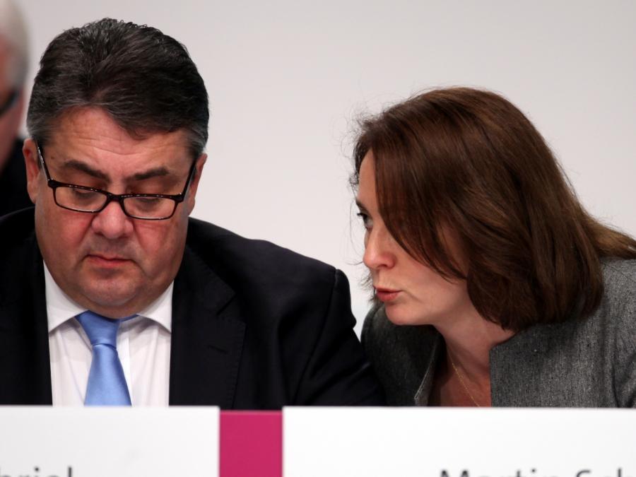 Barley und Schwesig gegen SPD-Doppelspitze