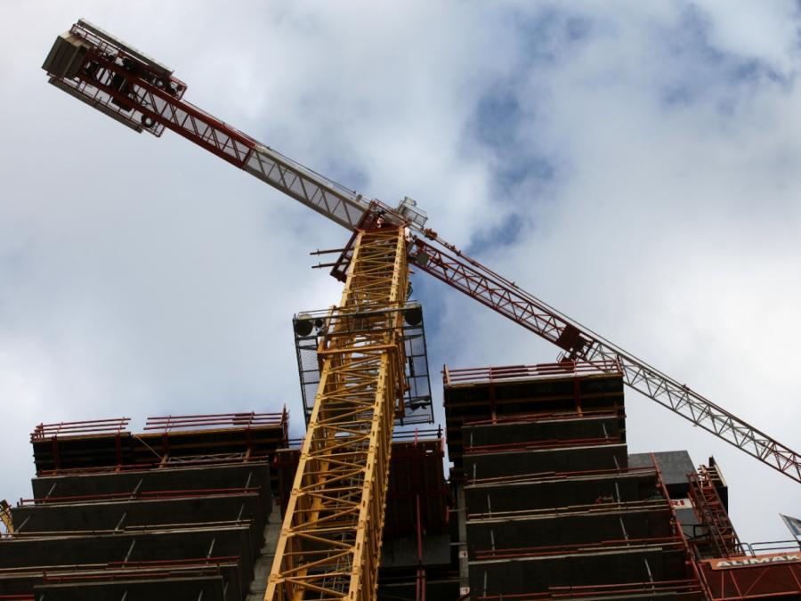 Weniger Baugenehmigungen für Wohnungen
