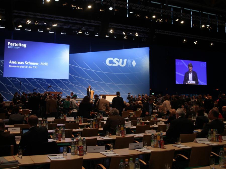 CSU-Parteitag eröffnet