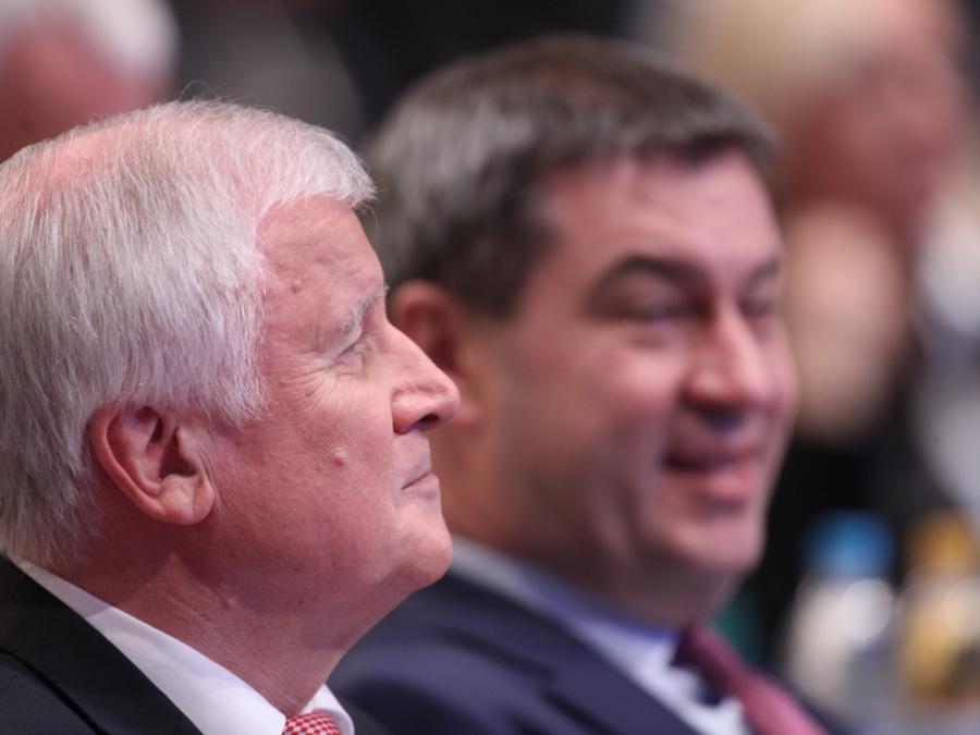 Seehofer hält Söder für richtigen Nachfolger als CSU-Chef
