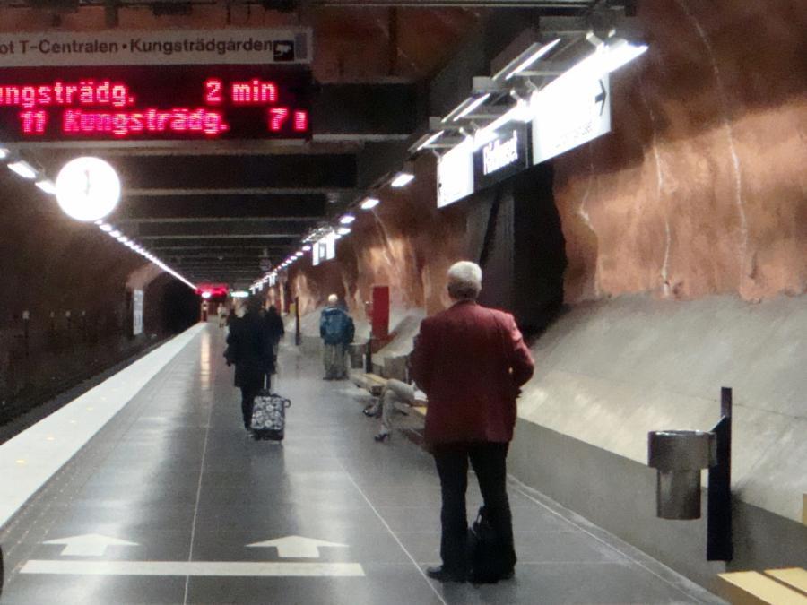 Stockholmer Metro-Verkehr nach Terroranschlag eingeschränkt