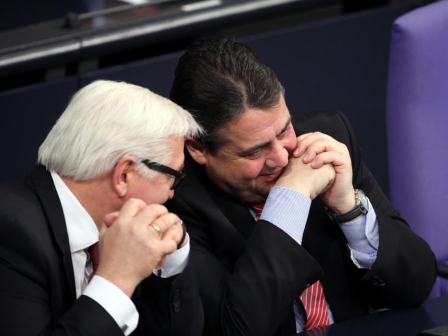 Steinmeier und Gabriel führen Politiker-Ranking an