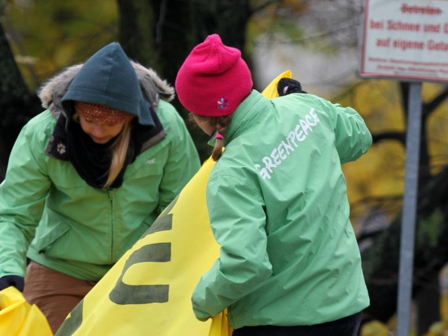 Greenpeace will mehr deutschen Einsatz beim Klimaschutz