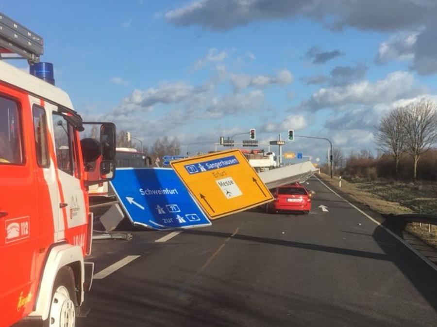 Friederike fordert Verletzte und mindestens ein Todesopfer