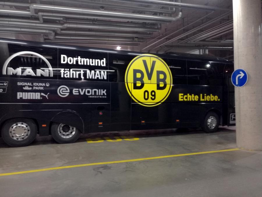 BVB-Anschlag: Spuren führen ins Ausland