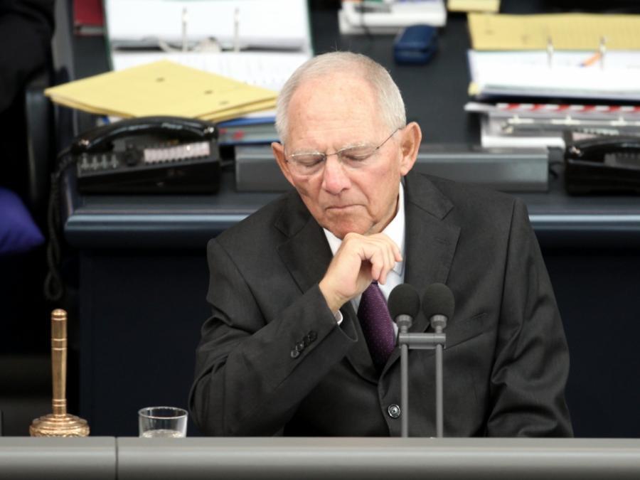 Bundestagspräsident Schäuble fordert Wahlrechtsreform