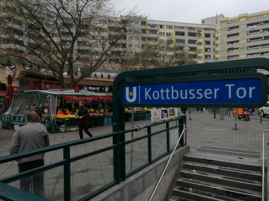 Berlin: Deutlich weniger Kriminalität am Kottbusser Tor
