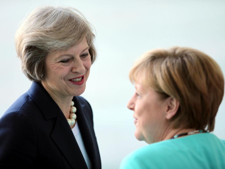 Merkel empfängt May
