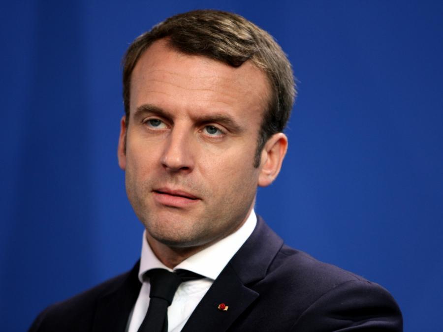 Macron droht Assad mit militärischem Eingriff in Syrien