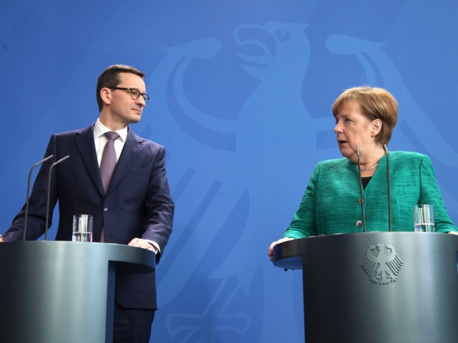 Merkel sieht Gemeinsamkeiten mit Polen in Flüchtlingspolitik