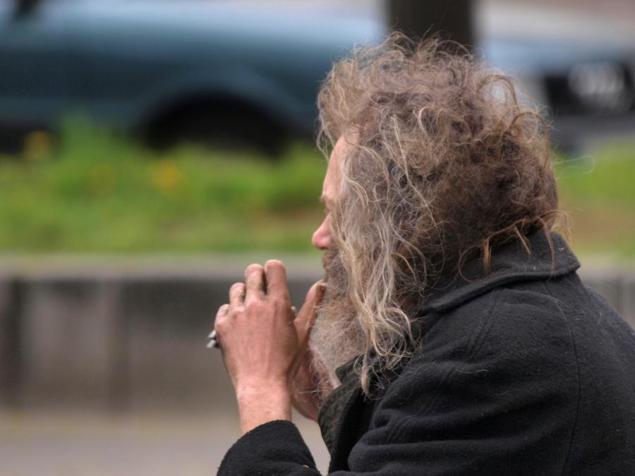 Anlaufstellen für Obdachlose wegen Corona knapp geworden