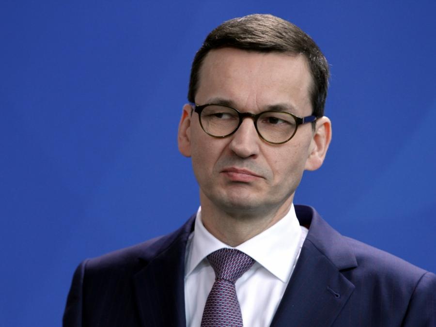 Polens Ministerpräsident hält neue Reparationszahlungen für geboten