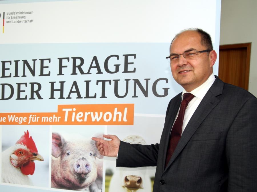 Kritik an Agrarminister und Tierwohl-Label